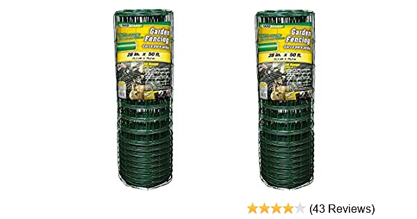 X Out Reviews >> Yardgard 308376b Garden Rabbit Fence 28 Inch X 50 Foot Green Pack Of 2