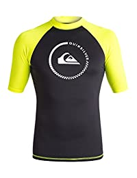Quiksilver Men's Lock Up Short Sleeve Rash Guard