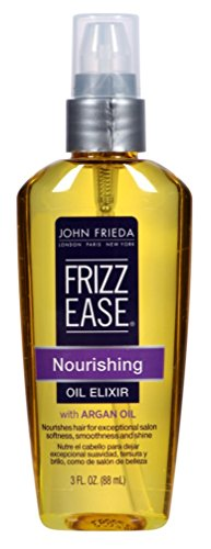-John Frieda Frizz Ease Nourishing Elixir Oil , 3 Fluid Ounc