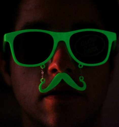"Sun-Staches ""The Original Mustache Sunglasses"" Catch eyes. Turn heads. BE THE PARTY."