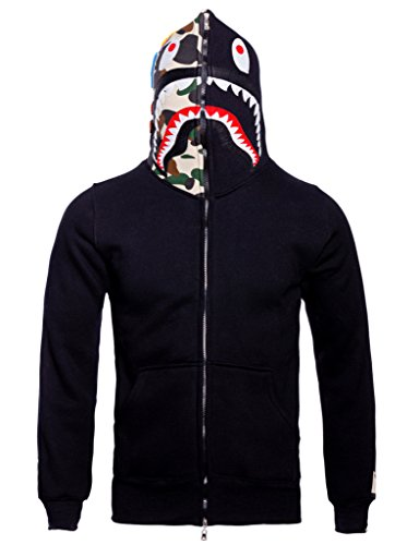 Christo+Mens+Hoodies+Sweatshirt+Fashion+Outdoor+Tracksuit+Casual+Hip-Hop+Funny+Coat%2C+Black02%2C+L