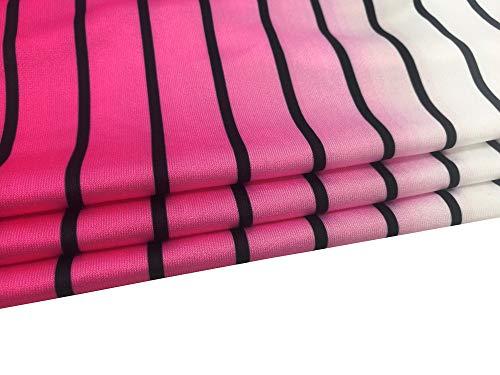 blouse A Donna Hot Tonda Manica showsing women Corta Pink Top Punta 74qx5BtBw