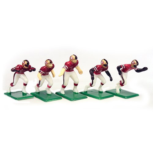 Tudor Games NFL Home Jersey - San Francisco 49ers Alternate Uniform 11 Electric Football Players