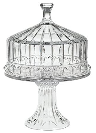 Amazon.com | Godinger Olympia Crystal Domed Cake Plate Cake Stands Cake Stands  sc 1 st  Amazon.com & Amazon.com | Godinger Olympia Crystal Domed Cake Plate: Cake Stands ...