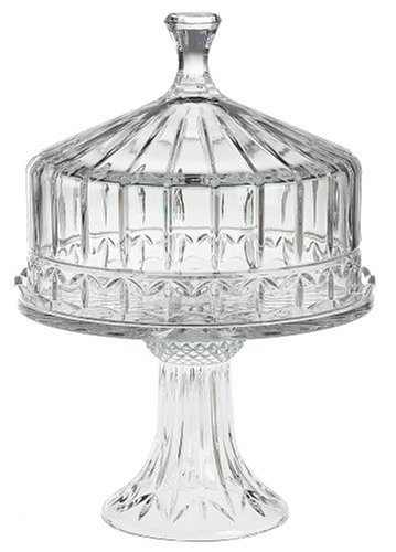 Godinger Olympia Crystal Domed Cake Plate  sc 1 st  Amazon.com & Amazon.com | Godinger Olympia Crystal Domed Cake Plate: Cake Stands ...