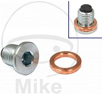 Bouchon de vidange dhuile magn/étique JMP M14 x 1,50 avec anneau de fermeture