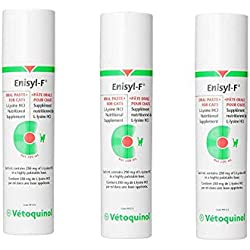 Vetoquinol Enisyl-F 3-Pack Oral Paste for Cats, 100ml