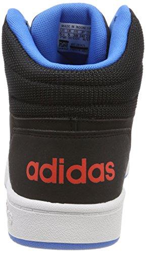 Schwarz adidas Mid Ftwbla Negbás Unisex 2 000 0 Fitnessschuhe Hoops Kinder Azubri qwT07qp
