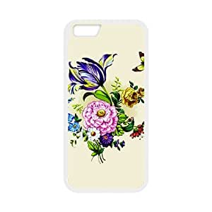 IPhone 6 Plus 5.5 Inch Phone Case for Flowers pattern design