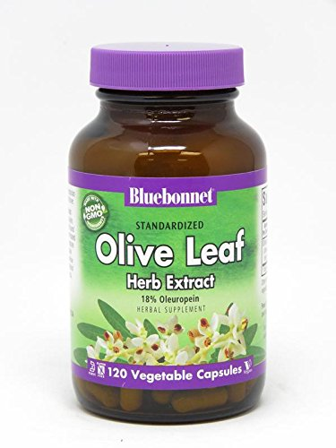 BLUEBONNET NUTRITION STANDARDIZED OLIVE LEAF HERB ()