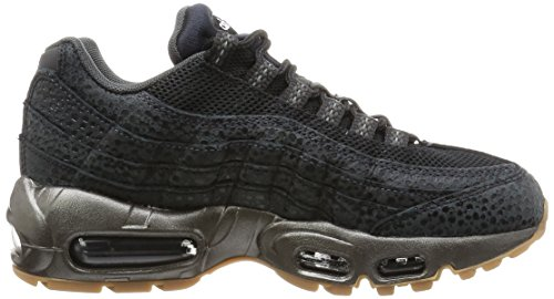 Nike Air Max 95 Prm Running Formateurs 807443 Sneakers Chaussures Noir / Anthracite