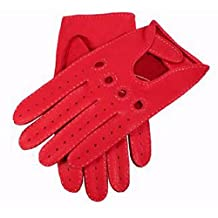 Berry Deerskin Leather Driving Gloves by Dents - 10 - 10½ - Dents