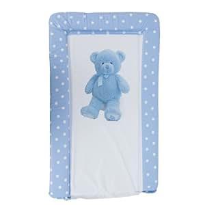 Amazon Com Baby Teddy Bear Deluxe Padded Easy Clean
