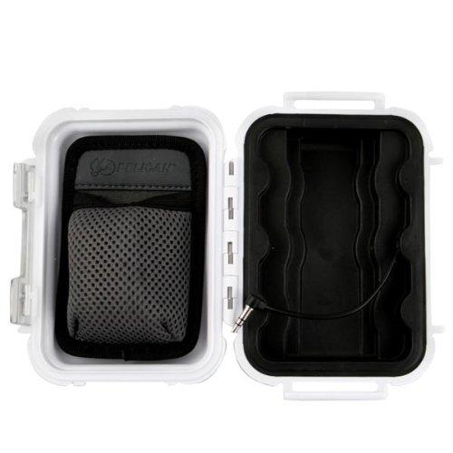 Pelican i1010 Case f/iPod & MP3 Players - White