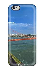 Durable Golden Gate Bridge Back Case/cover For Iphone 6 Plus