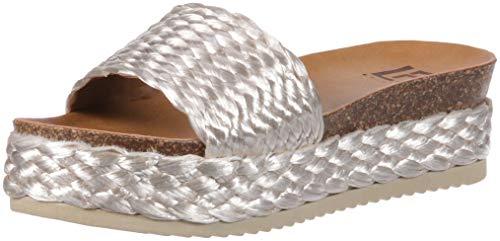 - LFL by Lust for Life Women's L-Park Flat Sandal, Natural Raffia, 8.5 Medium US