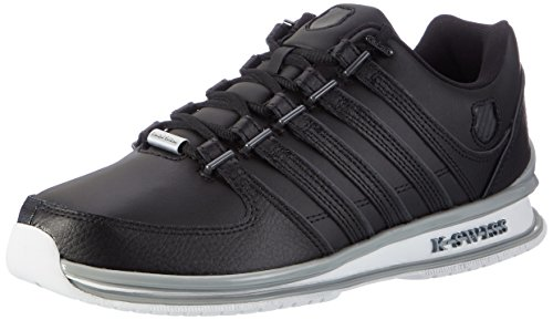 K-Swiss Herren Rinzler SP Sneaker Weiß(BLACK/DARK SHADOW/QUARRY)