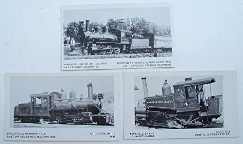 POSTCARDS LOCOMOTIVES railroad railway ()
