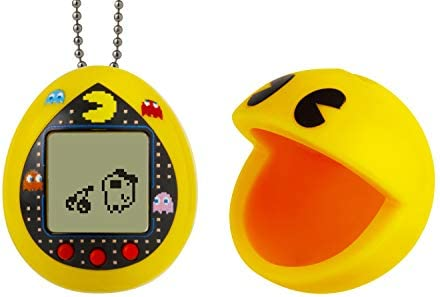 Tamagotchi Deluxe PAC-Man with Case – Yellow Maze, Deluxe Yellow