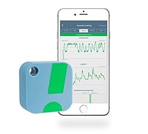 Termómetro / Higrómetro Inalámbrico SensorPush para iPhone /Android – Sensor Inteligente de Humedad y Temperatura con Alarmas. ¡Aplicación disponible ...
