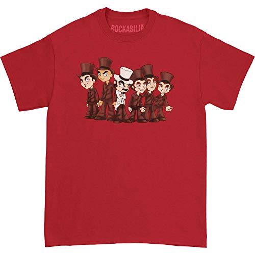 Serj Tankian Men's Cartoon T-Shirt Small Red