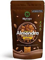 NULLIAV - Bebida de Almendra del Méditerráneo Cocoa en polvo soluble - 440g - Rinde 5.5 L.