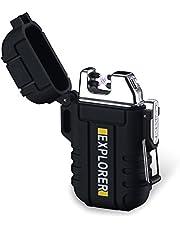 PSKOOK Flint Steel Striker Kit with Pocket Bellow Primitive Fire Starter English