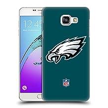 Official NFL Plain Philadelphia Eagles Logo Hard Back Case for Samsung Galaxy S6 edge+ / Plus