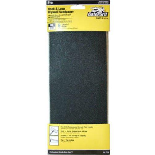 ALI INDUSTRIES 7156 6CT 80 25 CT Grit Drywall (80 Grit Drywall Sander)