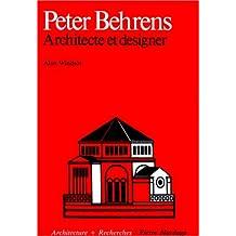 PETER BEHRENS ARCHITECTE ET DESIGNER