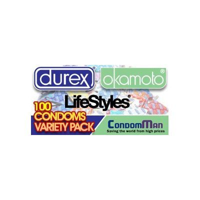 100-Condoms-Variety-Pack-CondomMans-Collection-of-the-Worlds-Best-Condoms