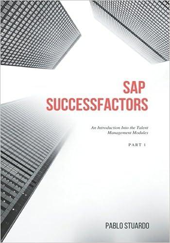 Buy Sap Successfactors: An Introduction into the Talent