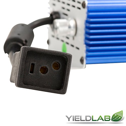 Yield Lab Horticulture 1000w Slim Line Dimmable Digital Ballast for HPS MH Grow Light by Yield Lab (Image #2)