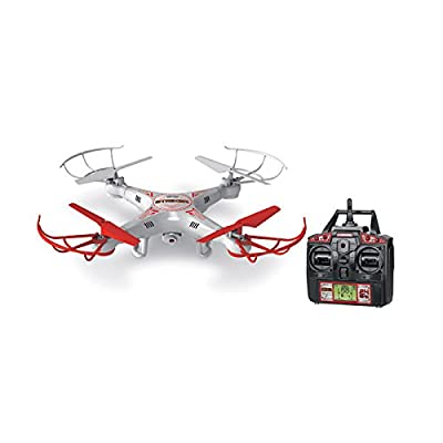 World Tech Toys 2.4 GHz 4.5 Channel Striker Spy Drone Picture & Video Remote Control Quadcopter from World Tech Toys