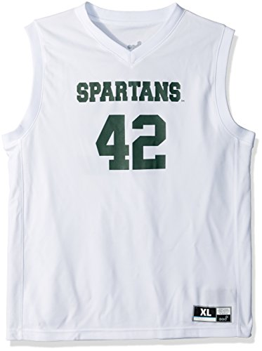 igan State Spartans Youth boys Chase Basketball Jersey, White, Youth X-Large(18) (Authentic College Basketball Jerseys)