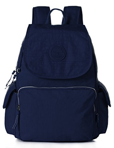 Mini Travel Daypack School Backpack Cute Schoolbag Teens (1506 Navy blue)