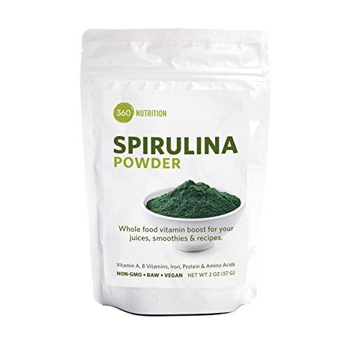Spirulina Superfood Powder, Vitamins A, B, Iron, Protein & Amino Acids, 2 (Iron Protein)