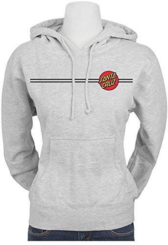 Santa Cruz Big Girl's Classic Dot Hoody Pullover Sweatshirts,Large,Grey Heather