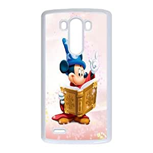 LG G3 Phone Case White Disney Mickey Mouse Minnie Mouse WQ5RT7511731