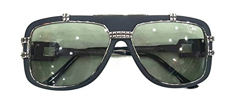 Cazal 661/3 Sunglasses 002 Black Silver 60mm (Cazal Shop)