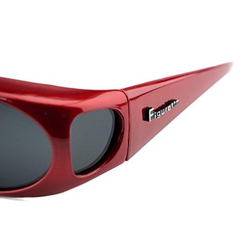MÚLTIPLES protección COLORES UVB de SOL Rojo 400 encima UVA superpuestas gafas Polarizadas GAFAS amp; DE otras – Figuretta wvCUZqRw