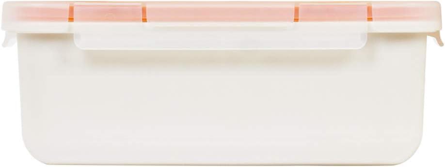 Valira Porta alimentos - Contenedor hermético de 0,75 L hecho en España, color blanco, 6090/9