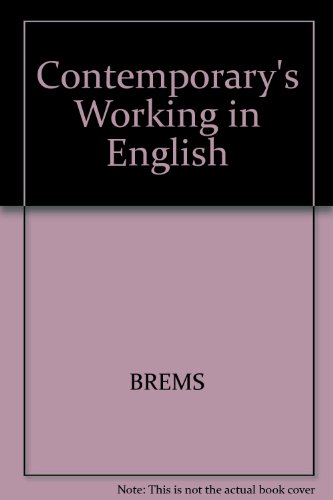 Contemporary's Working in English Book 1: A Picture Based Approach for the World of Work
