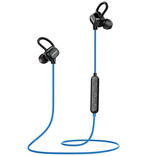 Wireless Sport Bluetooth Headphone (Blue) - 3