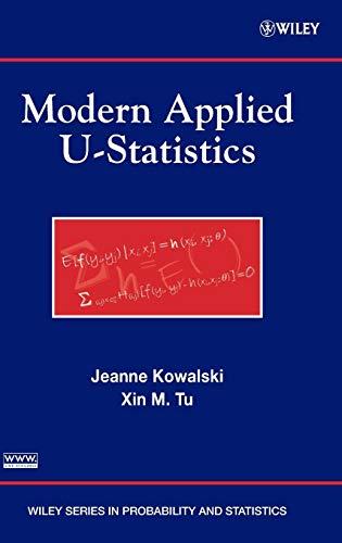 Modern Applied U-Statistics