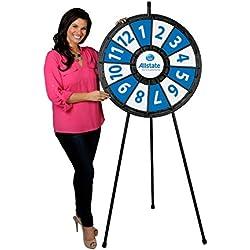 Floor Stand Prize Wheel 12 Slots (31 Inch Diameter)