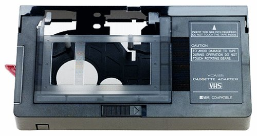 RCA VCA115 VHS-C Cassette Adapter (Discontinued by Manufacturer) by RCA