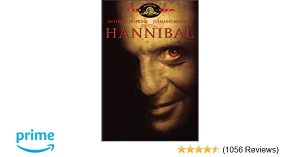 Amazon Com Hannibal Two Disc Special Edition Anthony Hopkins