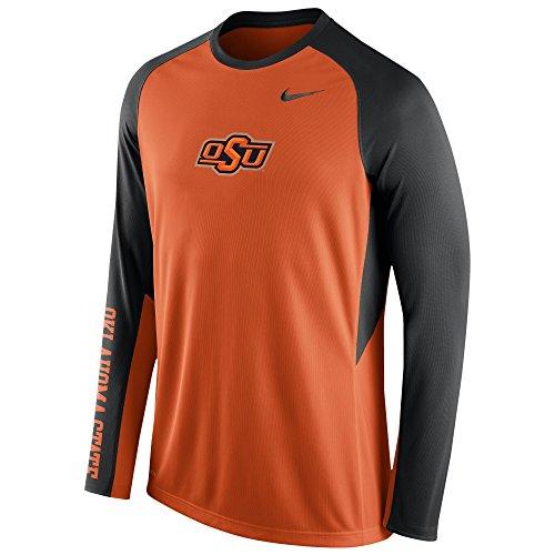 Nike Texas Shirt - Nike Oklahoma State Cowboys Dri-Fit Elite Shooting Long Sleeve Shirt (Small)