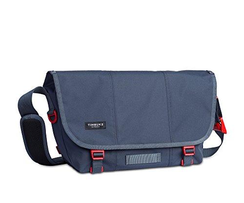 Timbuk2 Flight Classic Messenger Bag, Granite/Flame, M, Granite/Flame, Medium